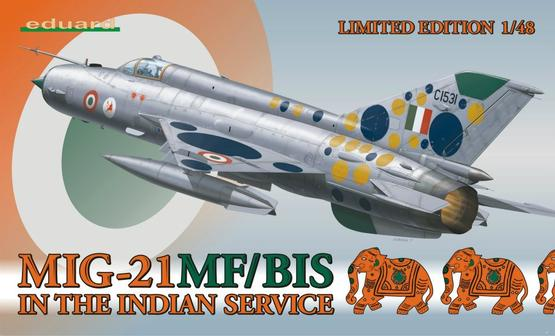 MiG-21MF/BIS in the Indian service 1/48