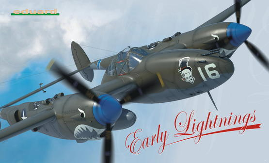 P-38F/G/H - Early Lightnings 1/48