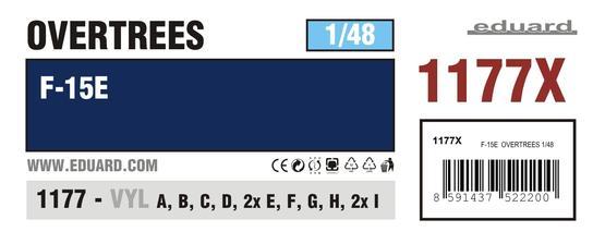 F-15E  OVERTREES 1/48 1/48