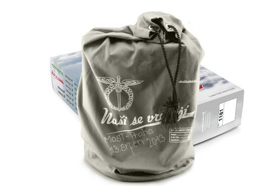 Naši se vracejí DUAL COMBO + RAF style bag – certified flight 1/48