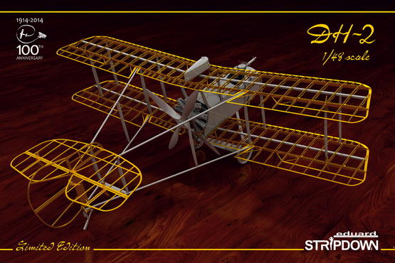 DH-2 STRIPDOWN 1/48