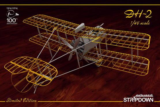 DH-2 STRIPDOWN 1/48
