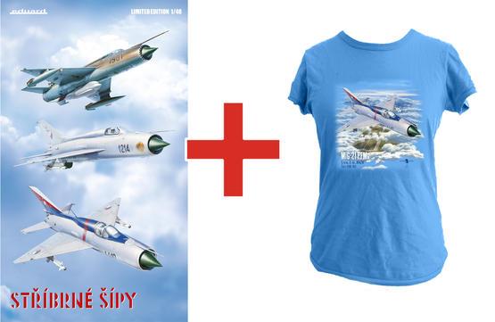 Stříbrné šípy (Silver arrows) + T-shirt (XXXL) 1/48