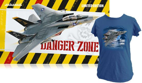 Danger Zone + T-shirt (XXXL) 1/48  - 1