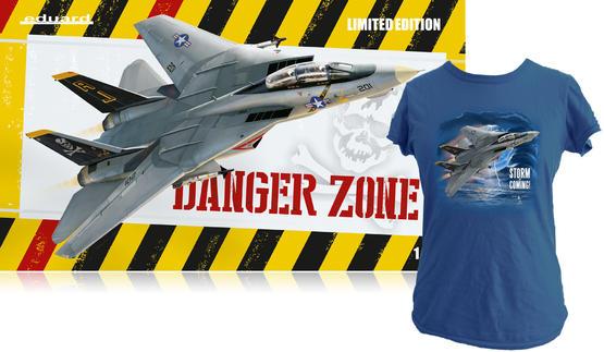 Danger Zone + T-shirt (M) 1/48  - 1
