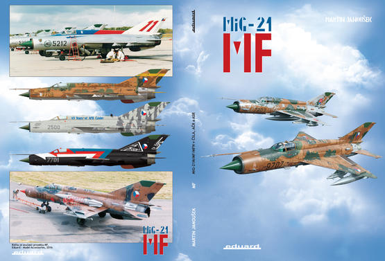 MF - MiG-21MF in Czech and Czechoslovak service - book