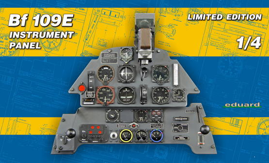 Bf 109E instrument panel 1/4