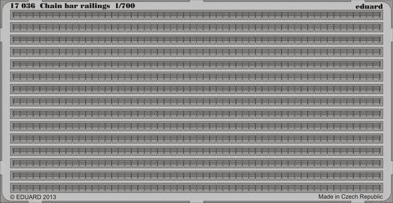Řetězové zábradlí 1/700