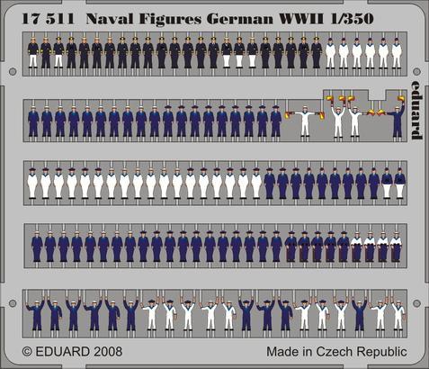 Naval Figures German WWII 1/350