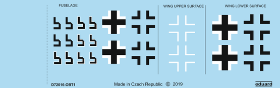 Fw 190A-8 national insignia 1/72