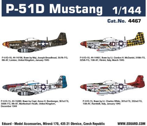 P-51D Mustang 1/144