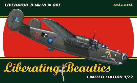 Liberator B. Mk. VI in CBI 1/72