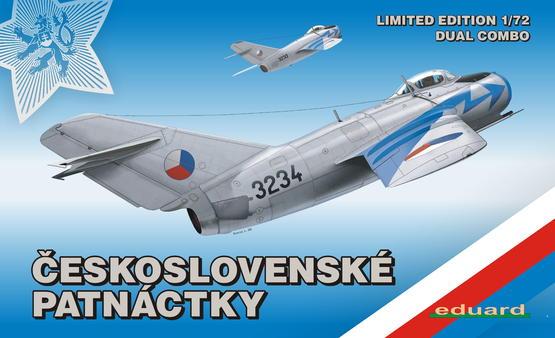MiG-15 in Czechoslovak service DUAL COMBO 1/72