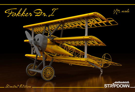 Fokker Dr.I STRIPDOWN  1/72 1/72