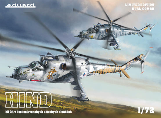 Mi-24 in Czech and Czechoslovak service  DUAL COMBO 1/72