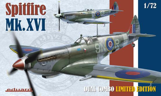 Spitfire Mk.XVI Dual Combo 1/72