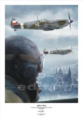 Poster - Nasi se vraceji / Spitfire Mk.IX