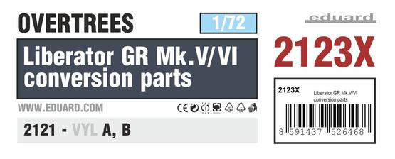 Liberator GR Mk.V/VI conversion parts OVERTREES 1/72