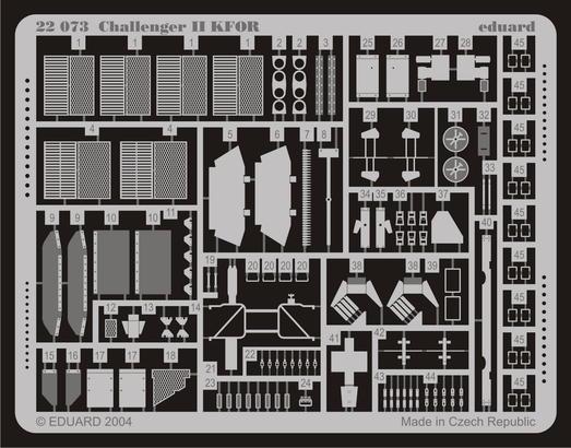 Challenger II KFOR 1/72