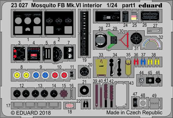 Mosquito FB Mk.VI interior 1/24  - 1