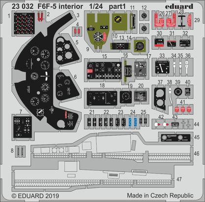 F6F-5 interior 1/24  - 1