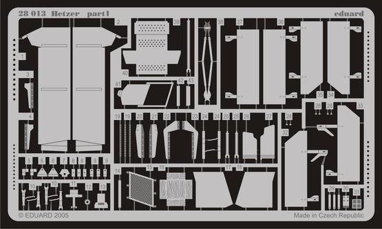 ヘッツァー 中期生産型 1/48  - 1