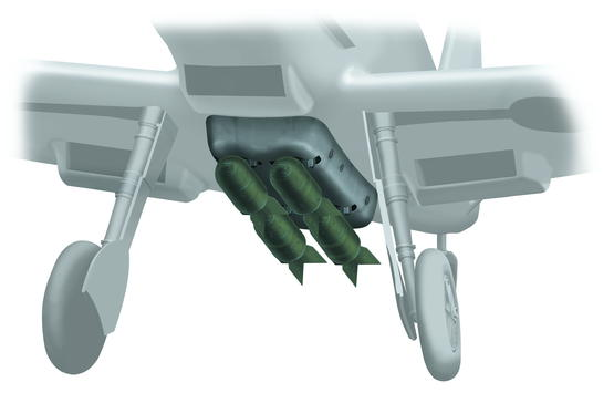 Bf 109E Bomb set 1/32
