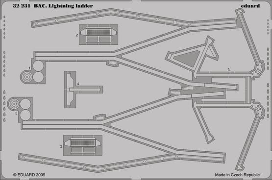 BAC Lightning ladder 1/32