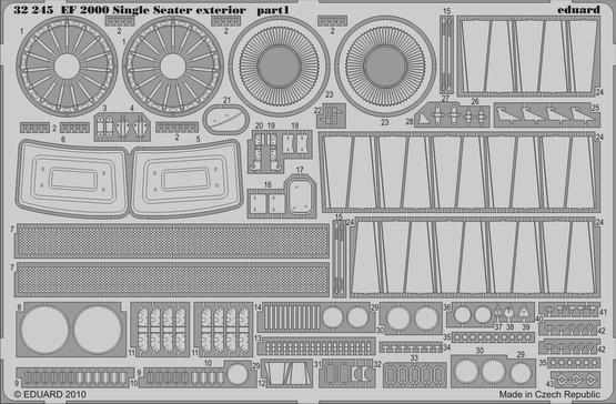 EF 2000 Single Seater exterior 1/32  - 1