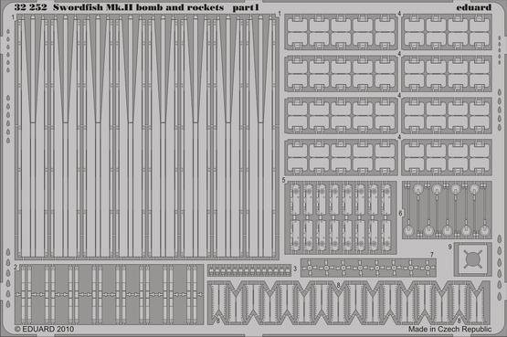 Swordfish Mk.II  bombs and rockets 1/32  - 1