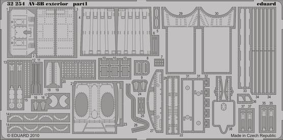 AV-8B exterior 1/32  - 1
