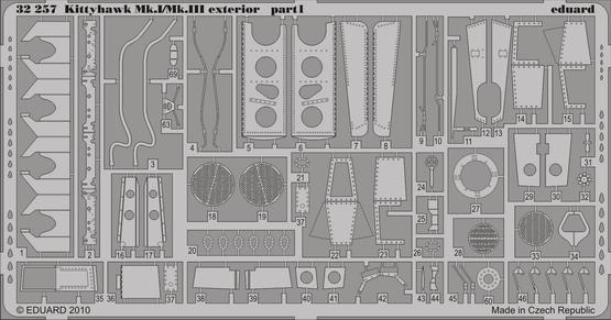 Kittyhawk Mk.I/Mk.III exterior 1/32  - 1