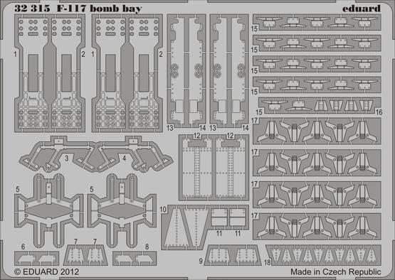 F-117 bomb bay 1/32