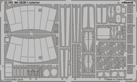 Me 262B-1 exterior 1/32