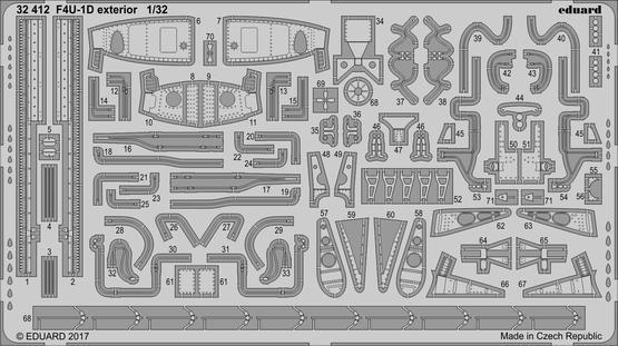 F4U-1D exterior 1/32