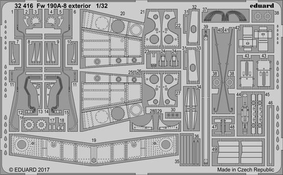 Fw 190A-8 exterior 1/32