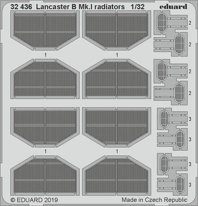 Lancaster B Mk.I chladiče 1/32