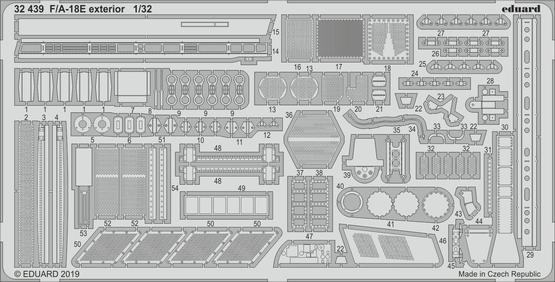 F/A-18E экстерьер 1/32