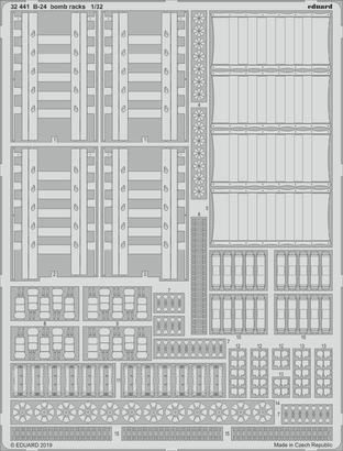 B-24 pumové závěsníky 1/32