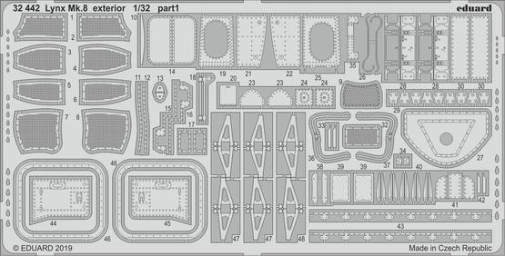 Lynx Mk.8 exterior 1/32  - 1