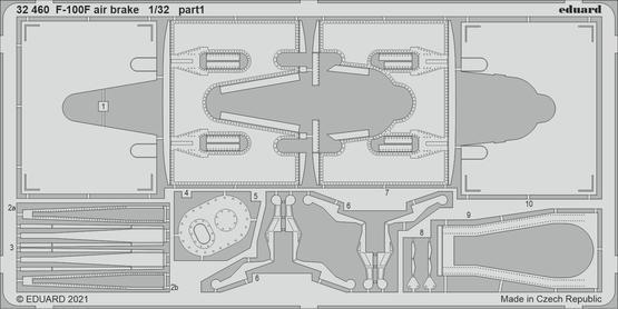 F-100F air brake 1/32  - 1