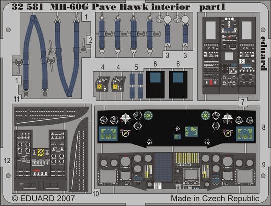 MH-60G interior 1/35  - 1