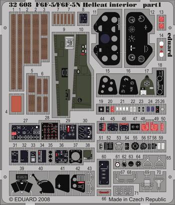 F6F-5/F6F-5N interior S.A. 1/32  - 1