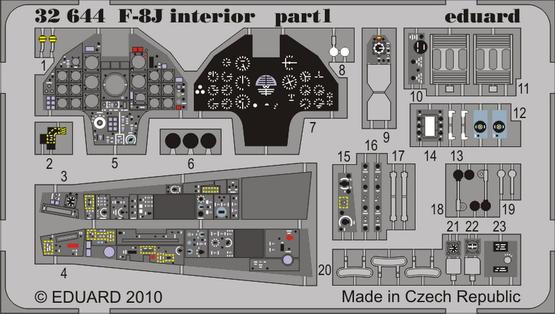 F-8J interior S.A. 1/32  - 1