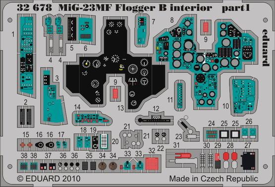 MiG-23MF Flogger B interior S.A. 1/32  - 1