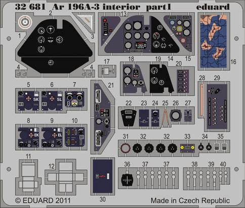 Ar 196A-3 interior S.A. 1/32  - 1
