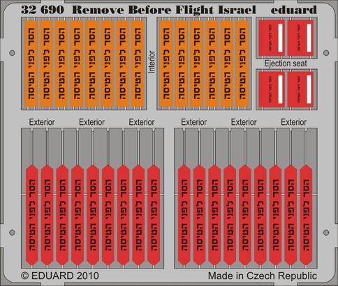 Remove Before Flight - Israel 1/32