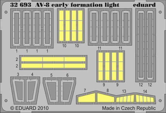 AV-8 early formation light 1/32
