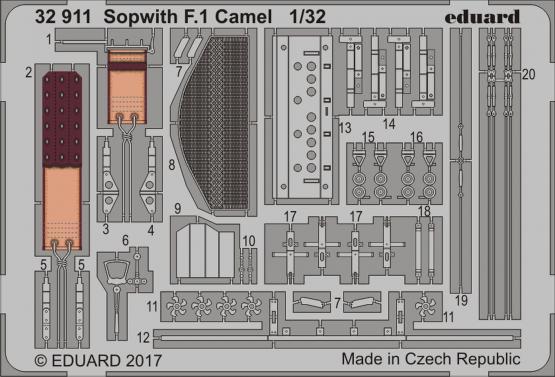 Sopwith F.1 Camel 1/32