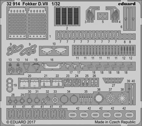 Fokker D.VII 1/32